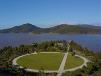 This is a feature image of a project video of Hinze Dam.