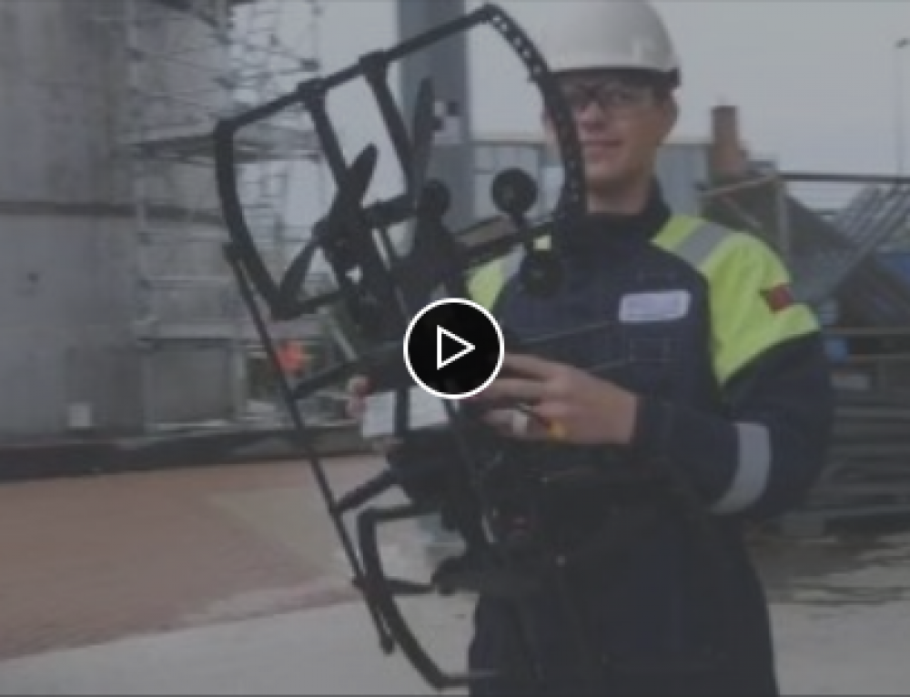 Ultrasonic Thickness Testing of Steel Structures Using a Drone